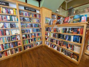 beach books interior of store