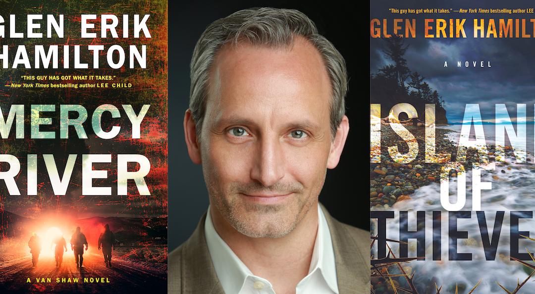 Writer Spotlight Wednesday: Glen Erik Hamilton & Island of Thieves