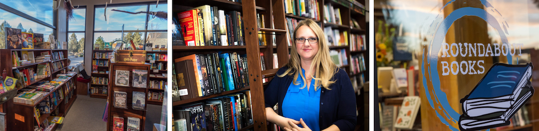 Interview With A Bookseller: Cassie Clemans of Roundabout Books